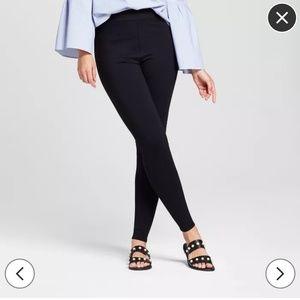 Mossimo black super skinny stretch pull on leggins